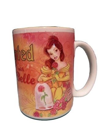 disney coffee mug beauty and the beast enchanted tales with belle
