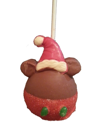Disney Goofy Candy Co - Caramel Apple - Santa Mickey Mouse