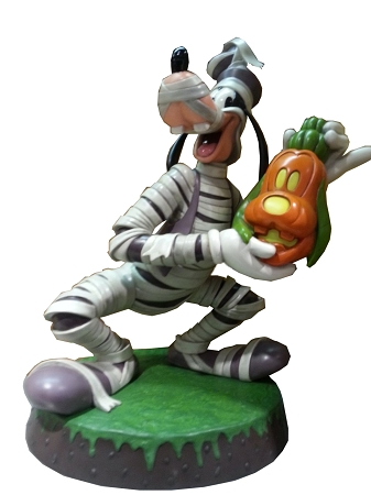 Disney Big Figure Statue - Halloween Goofy Mummy