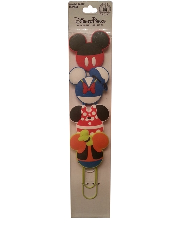 Disney Paper Clip Set - Mickey Mouse & Friends - JUMBO