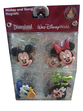 Disney Magnet Set - Mickey Mouse and Gang -- 4-Pc.