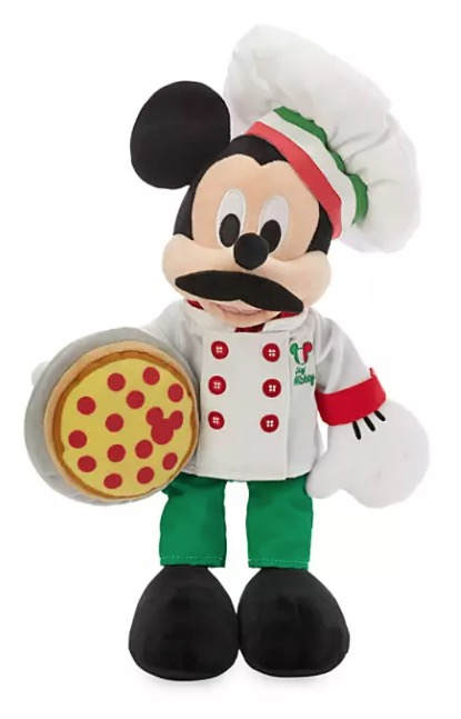 Disney World Showcase Plush - Mickey Mouse Chef - Italy