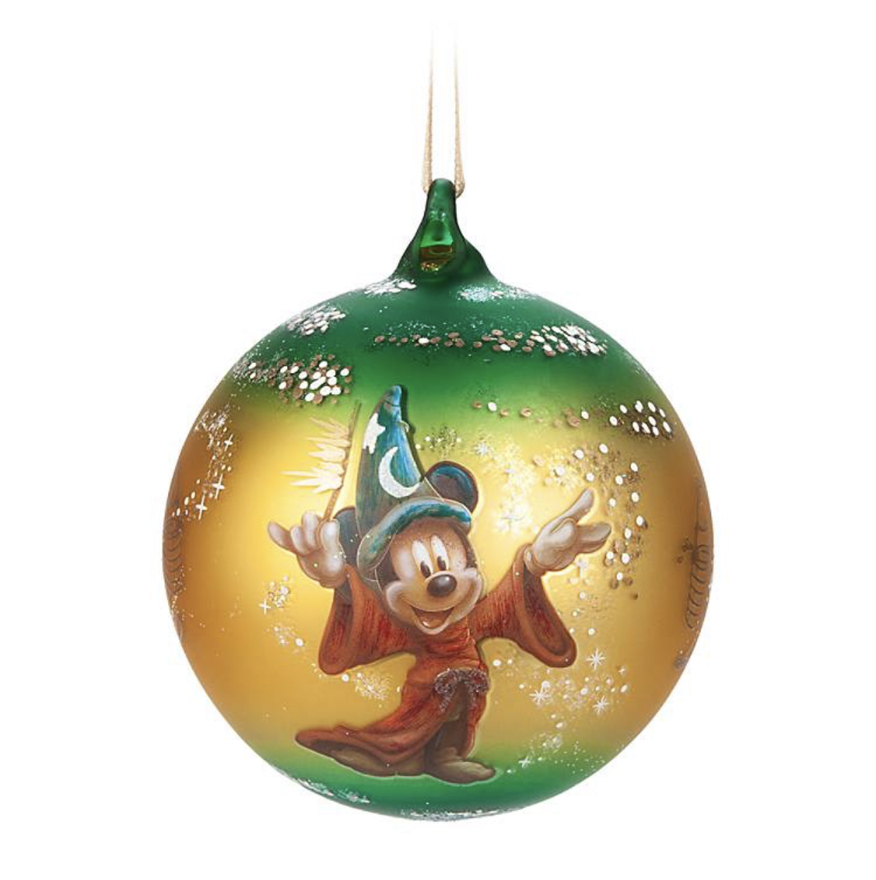 Disney Darren Wilson Ornament - 2019 Sorcerer Mickey Mouse