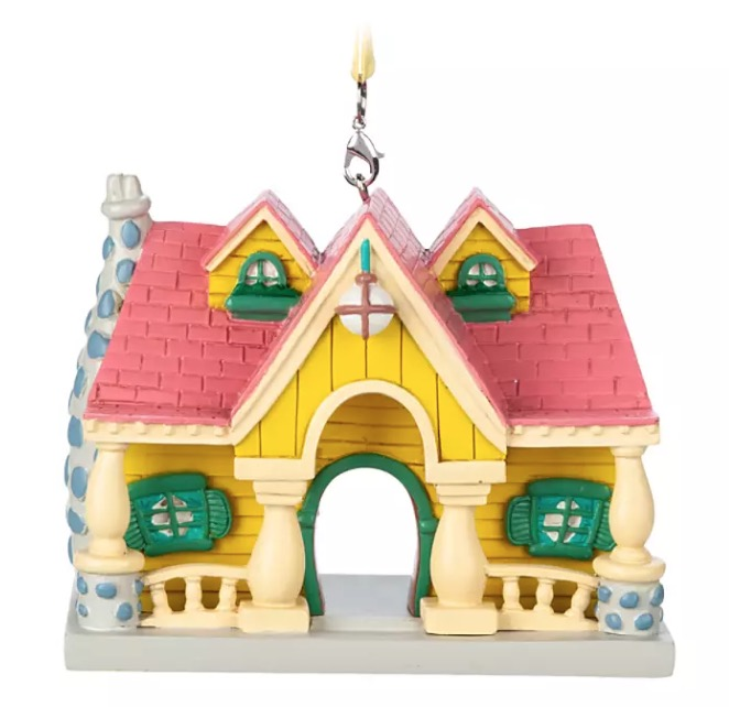 Disney Figurine Ornament - Mickey Mouse House - Toon Town