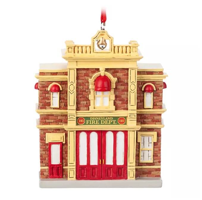 Disney Figurine Ornament - Main Street U.S.A. Firehouse