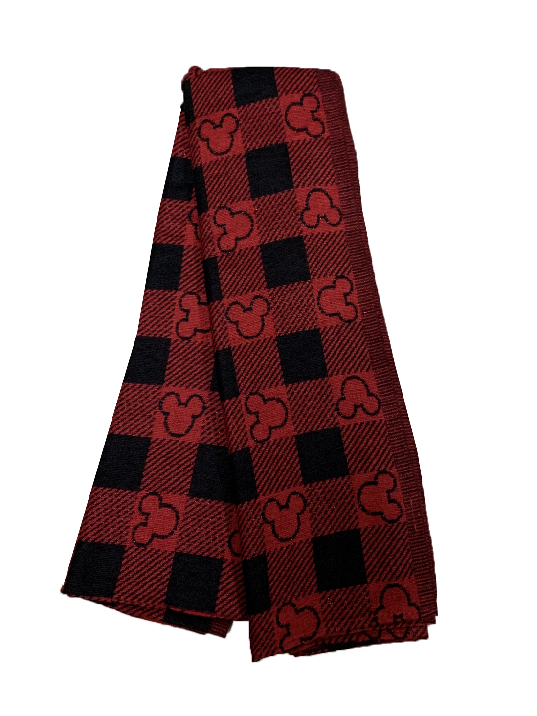 Disney Scarf - 2019 Holiday - Mickey Mouse Plaid