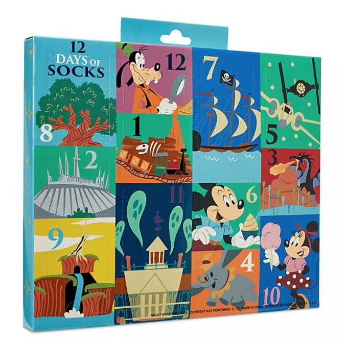 Disney Socks Set - 12 Days of Socks - Mickey and Friends