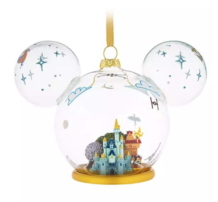 Mickey Ears Icon Ornaments
