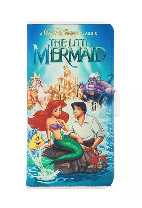 Disney iPhone XS Case - The Little Mermaid VHS Cover