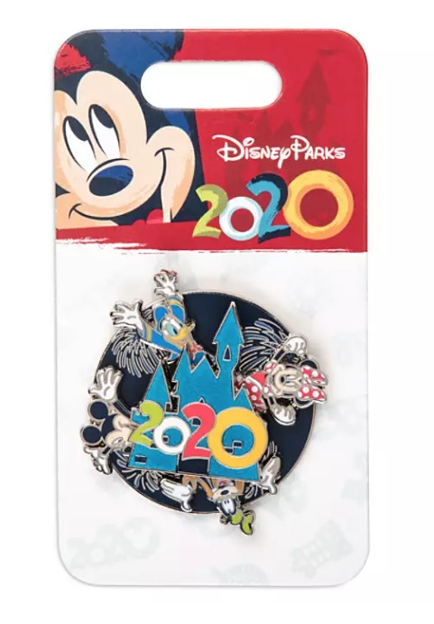 Disney 2020 Pin - Mickey Mouse and Friends Spinner