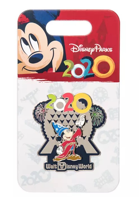 Disney 2020 Pin - Sorcerer Mickey at Spaceship Earth