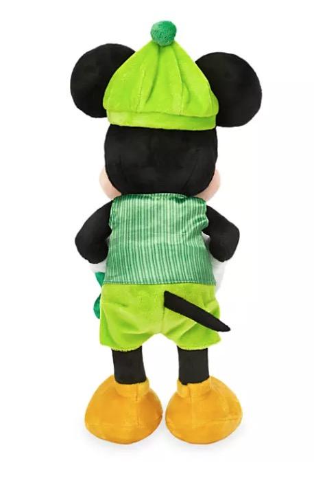 Disney Parks Happy St Patrick/'s Day 2020 Mickey Plush New with Tag