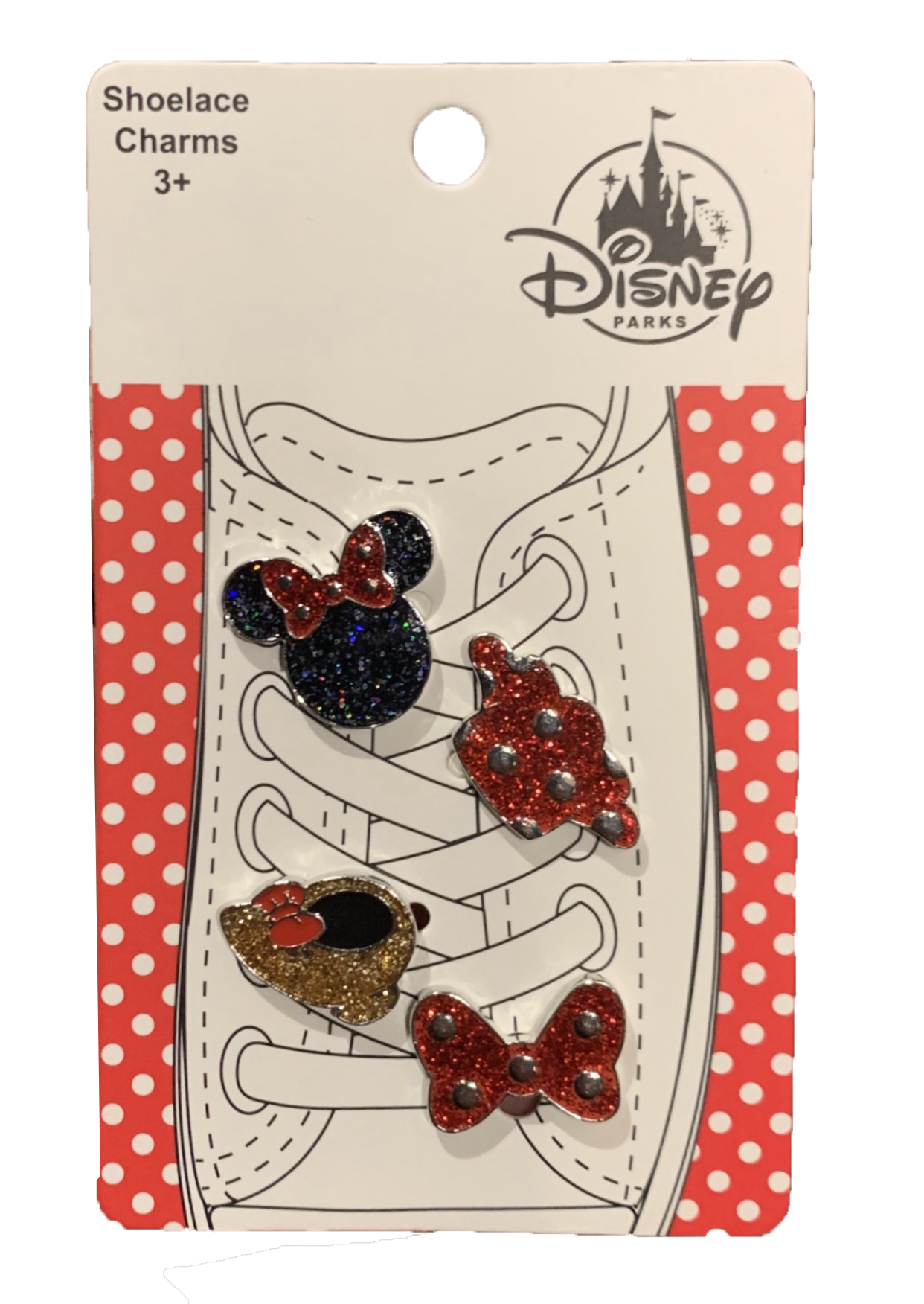 Disney Shoelace Charms - Minnie Mouse