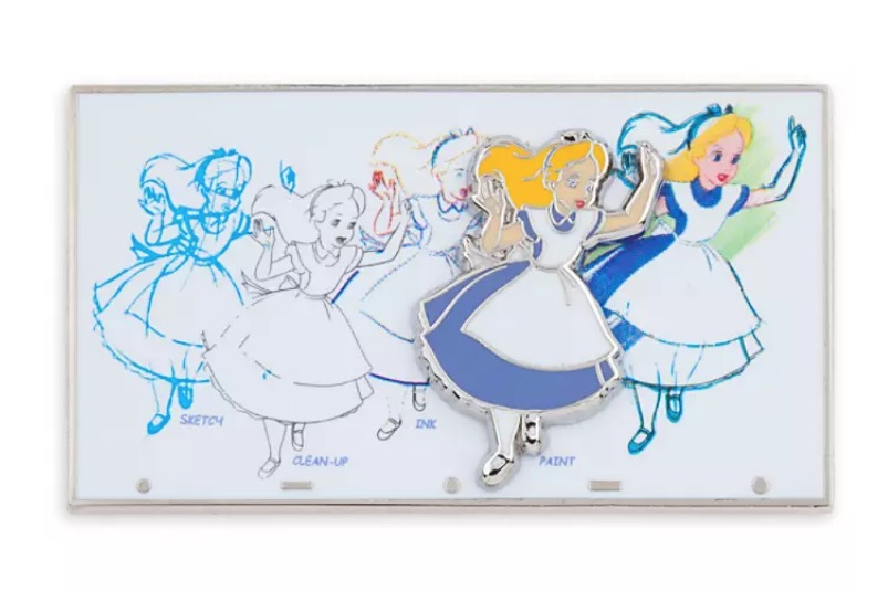 Disney Ink & Paint Pin - Alice in Wonderland