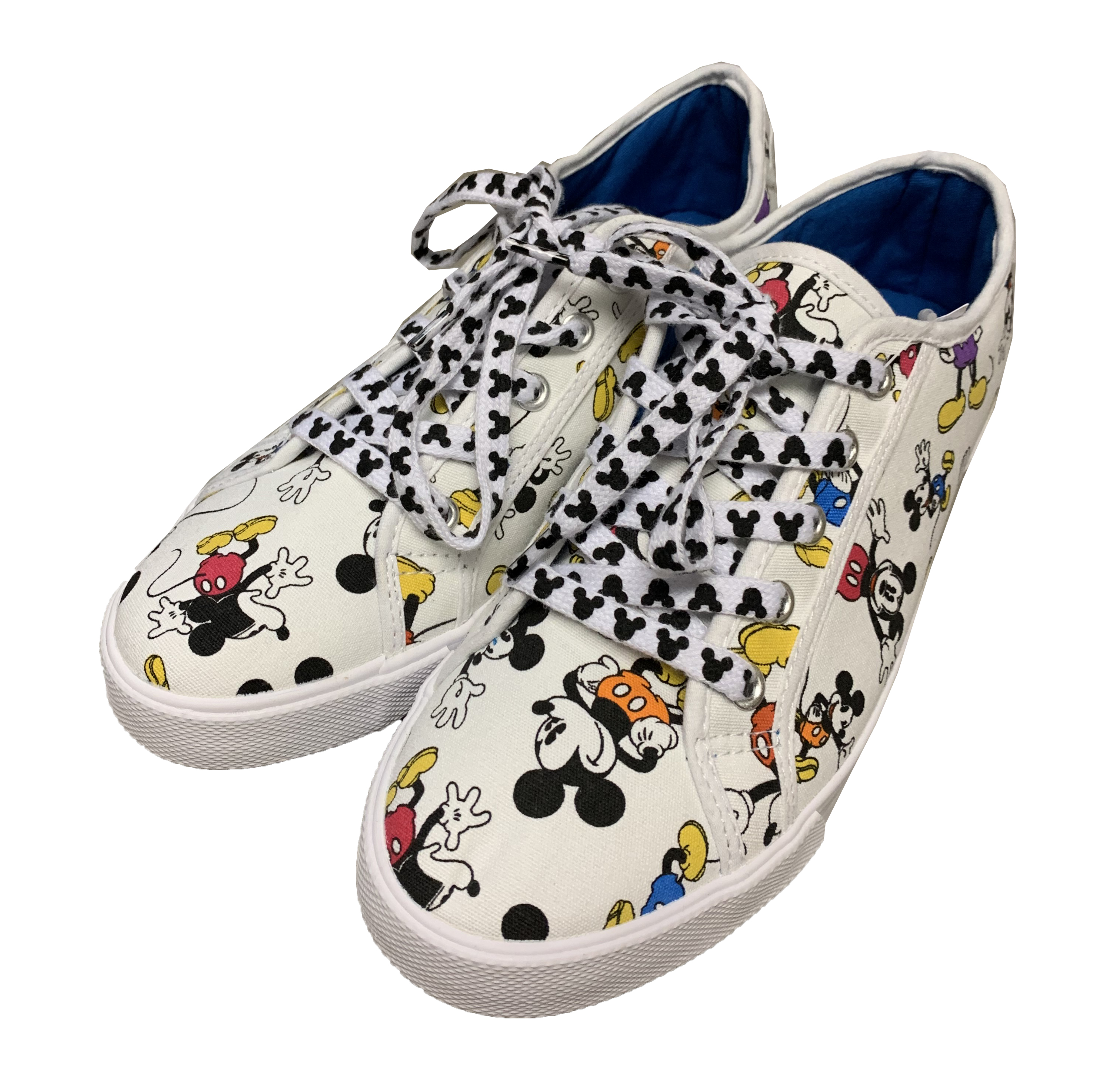 Disney Canvas Shoes for Women - Fantastic 5 - Mickey Mouse