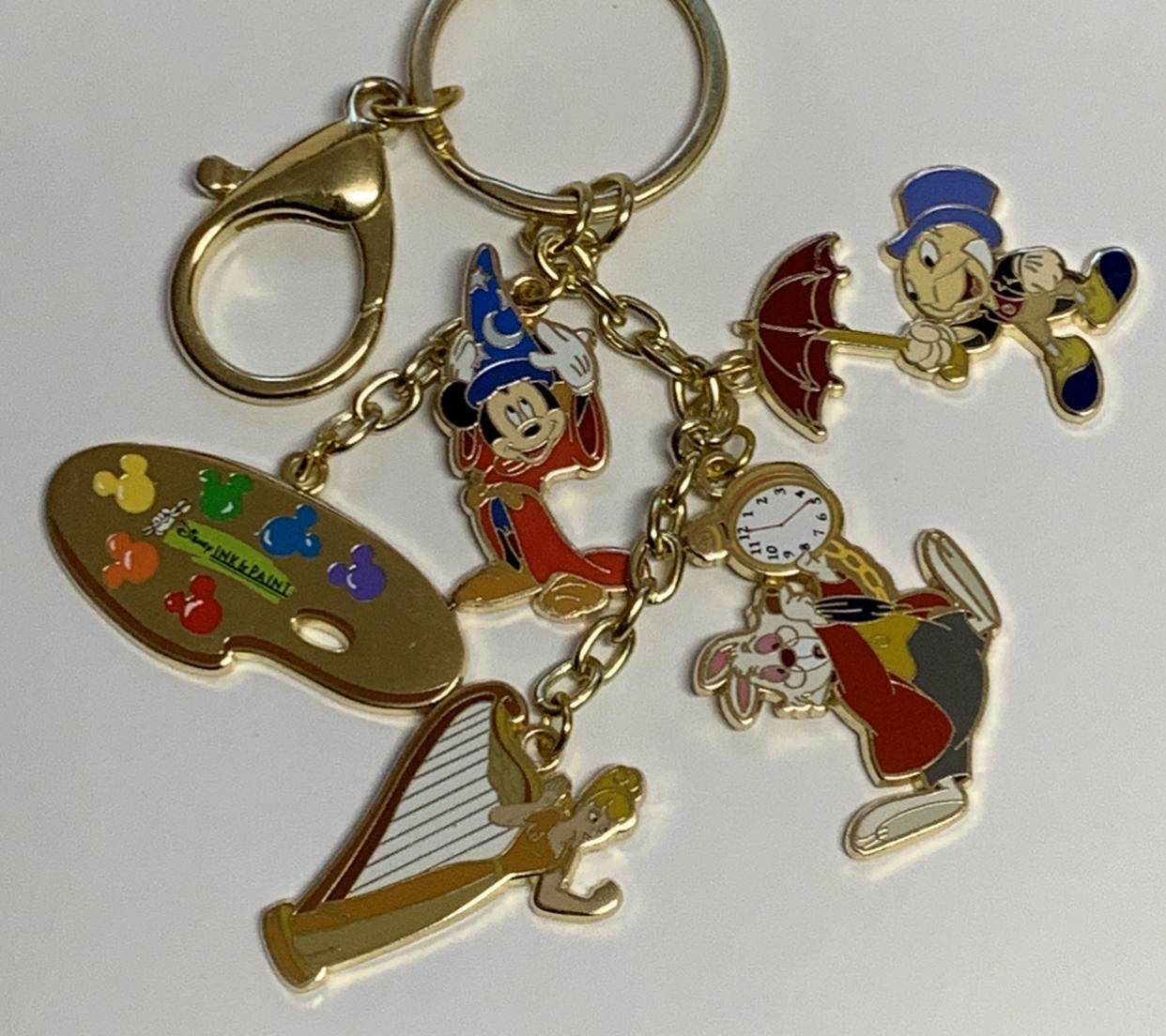 Disney Themed Key Chain