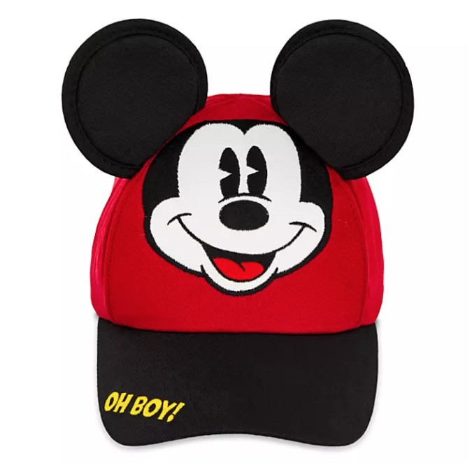 Disney Hat - Baseball Cap - Mickey Mouse - Oh Boy - Toddlers