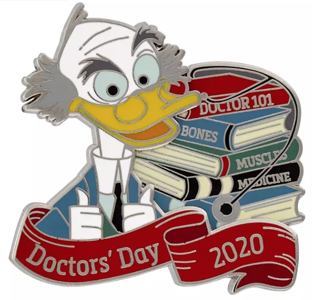 Disney Doctors Day Pins: Disney Doctor's Day Pin