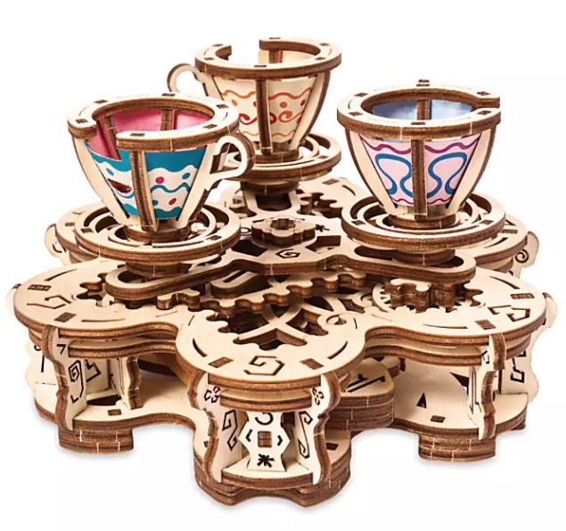 Disney UGears Puzzle - Mad Tea Party Attraction - Wood