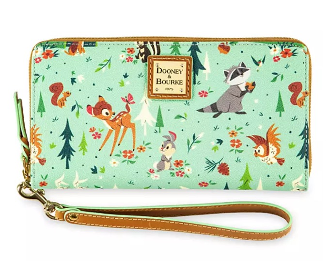 Disney Dooney & Bourke Wristlet - Bambi and Friends
