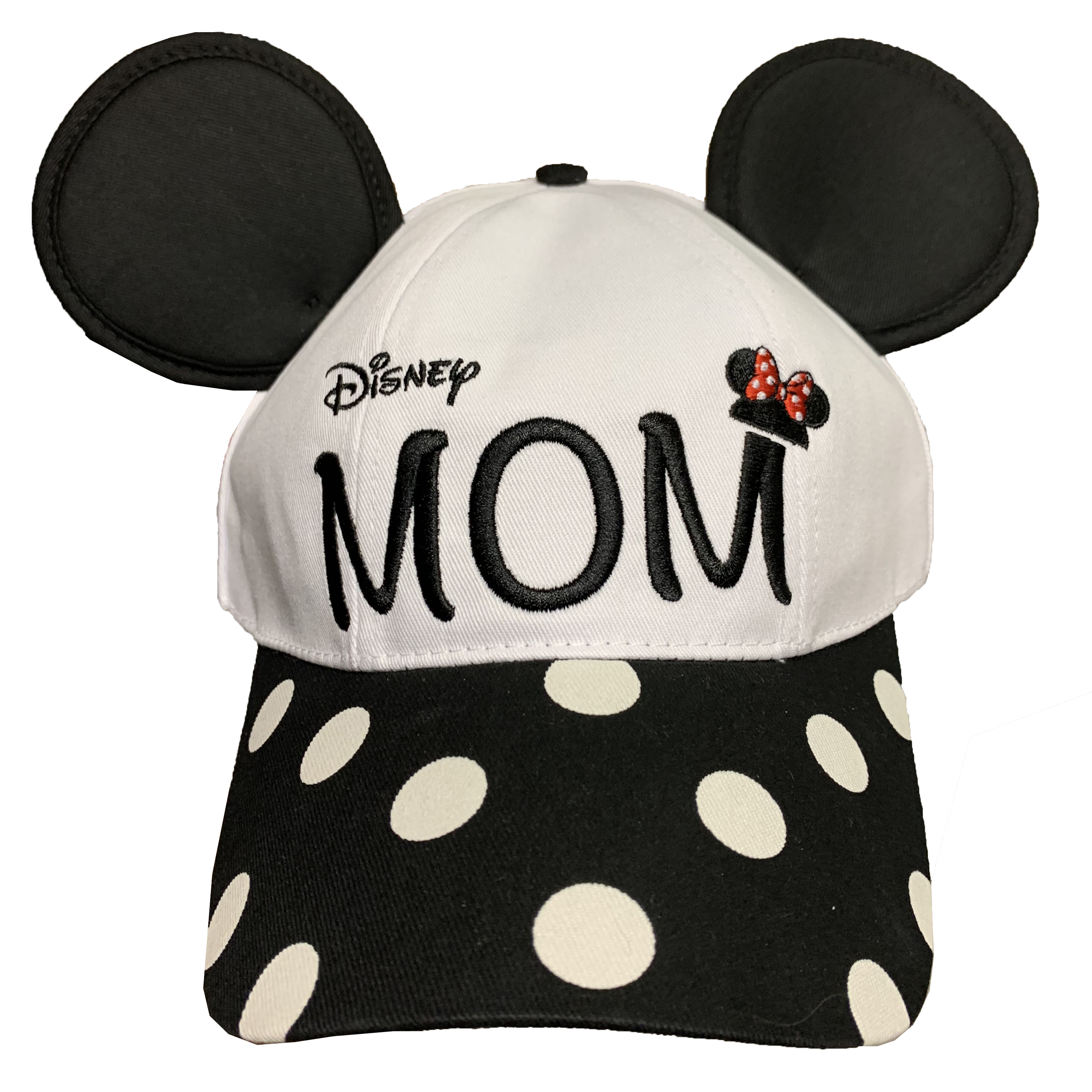 Disney Hat - Baseball Cap - Disney Mom - Minnie Ears