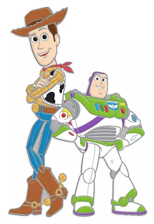 Disney Toy Story Pin - Woody and Buzz