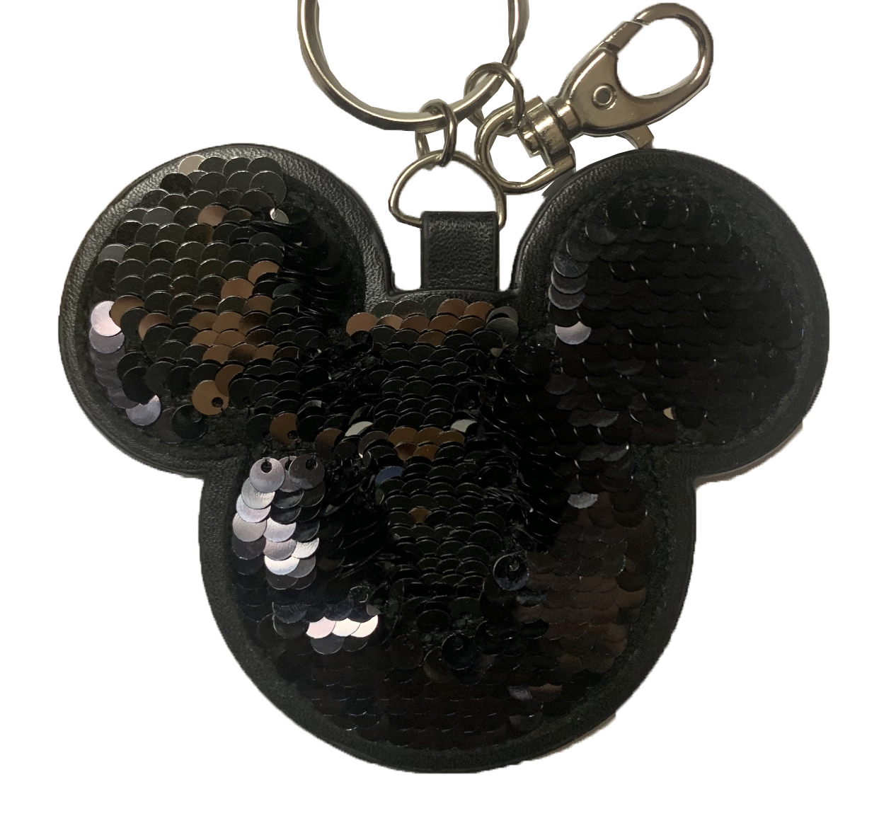 Disney Keychain - Mickey Mouse - Reversible Flip Sequin