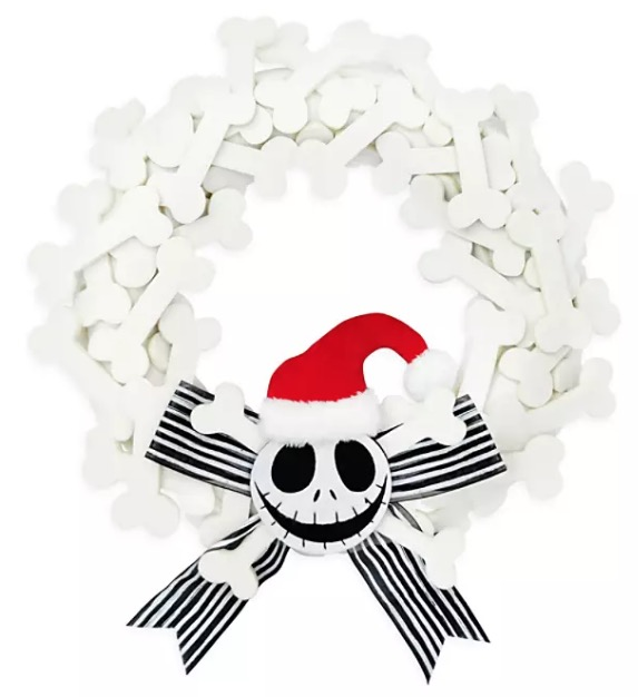Disney Wreath - Santa Jack Skellington - Nightmare Before Christmas