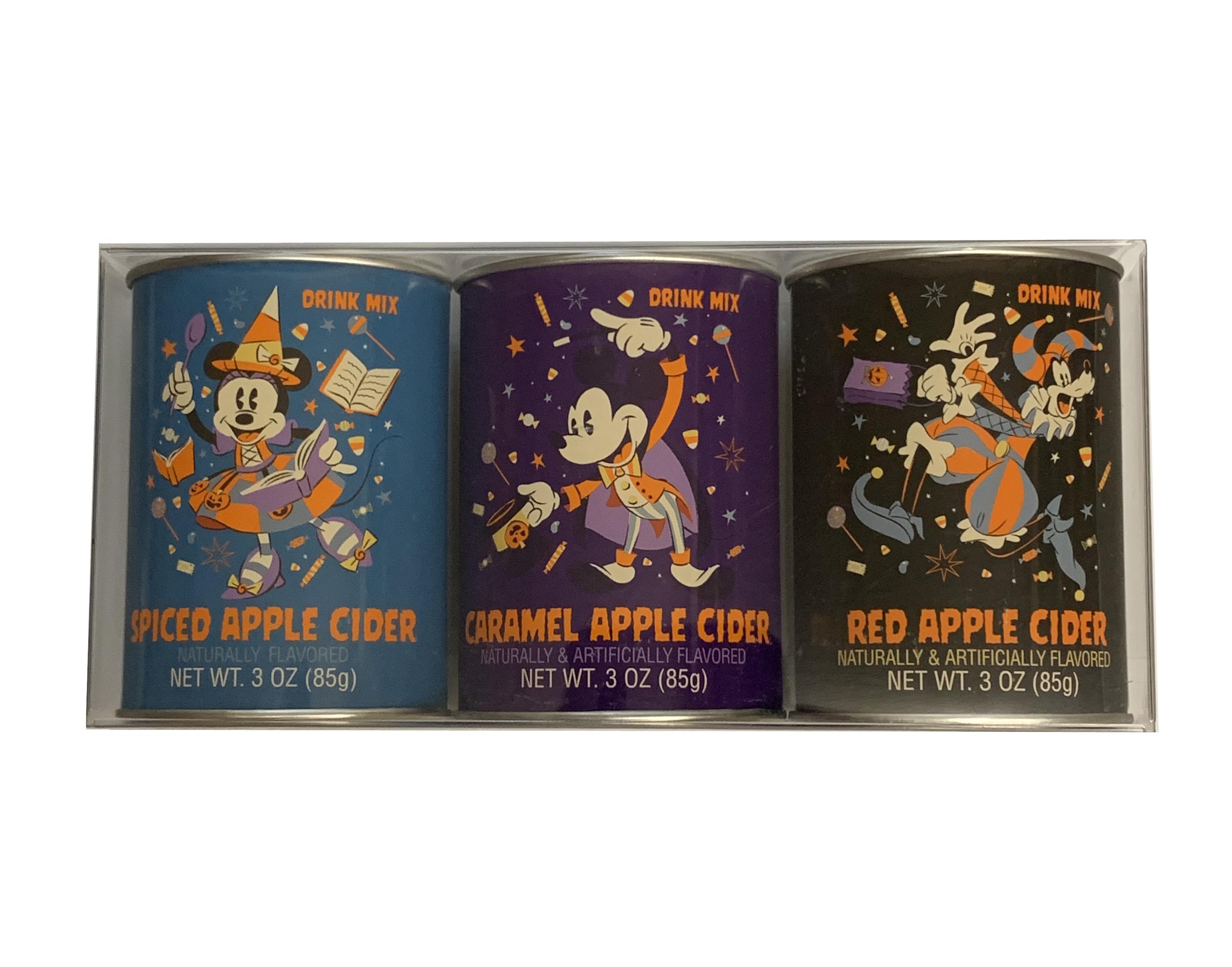 Halloween Mix 2020 Disney Drink Mix   2020 Halloween   Apple Cider   3 Pack
