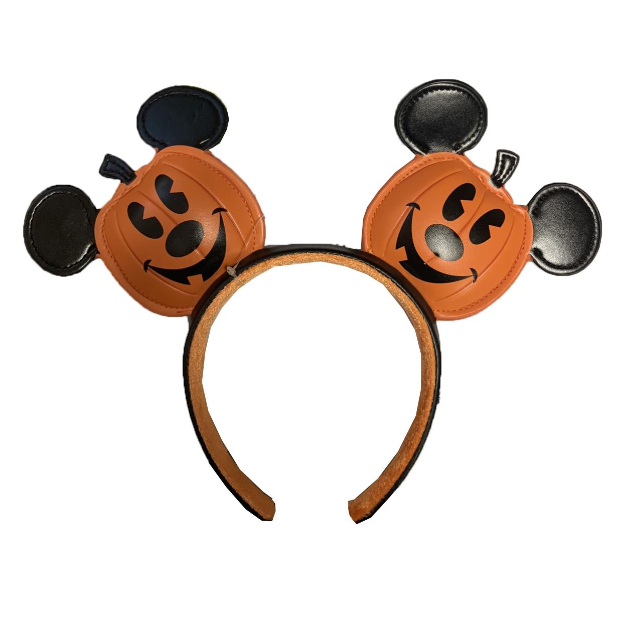 Disney Ears Mickey Ears Fall Ears Pumpkin Patch Ears Halloween Ears Minnie Ears