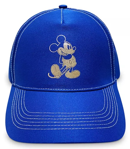 Disney Hat - Baseball Cap - Mickey Mouse - Wishes Come True Blue