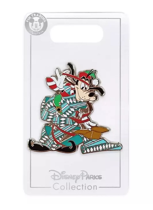 Disney Holiday Pin - 2020 Goofy Gift Wrapping