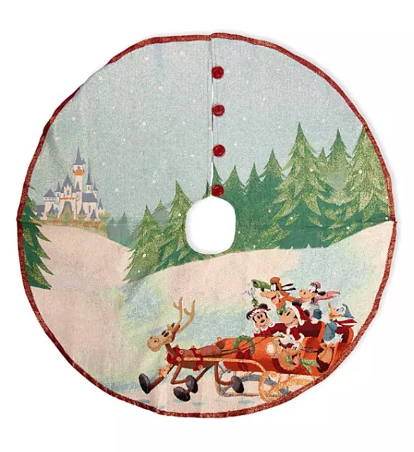 Disney Christmas Tree Skirt - Mickey Mouse and Friends Tapestry