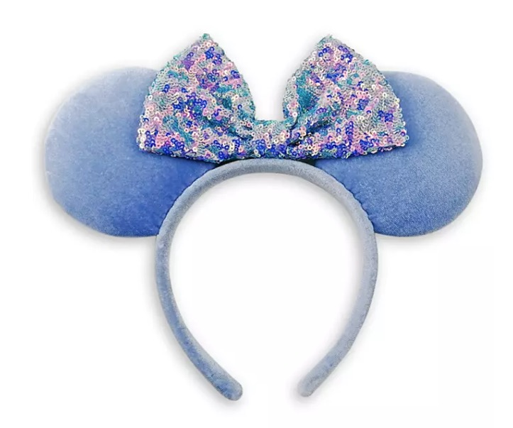 Disney Ears Headband - Minnie Mouse - Cornflower Blue