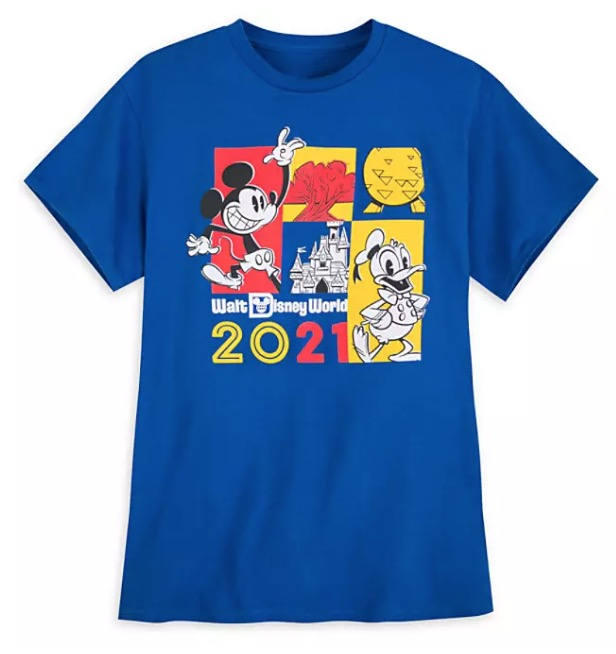 Disney Adult T-Shirt - 2021 Mickey & Donald - Walt Disney World