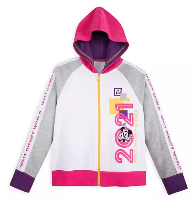 Mickey Mouse and Friends Zip-Up Hoodie for Girls Walt Disney World 2020