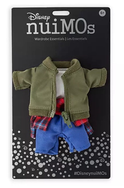 Disney nuiMOs Outfit - Jacket and Plaid Shirt Set