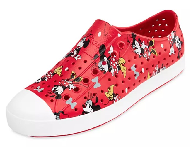 Disney Native Shoes for Women - Minnie Mouse - Red