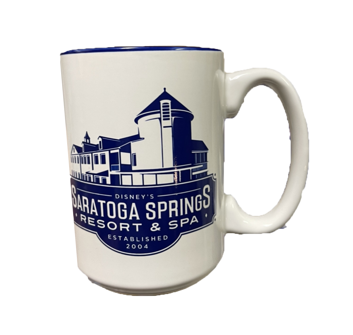 Disney Coffee Mug - Disney's Saratoga Springs Resort & Spa