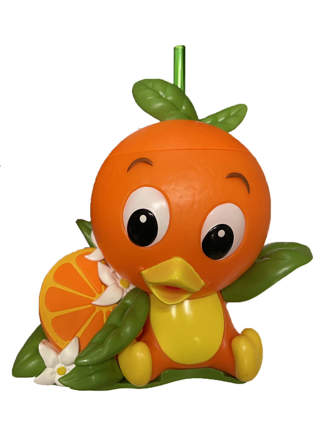 Disney Sipper Cup with Straw - Orange Bird with Orange Slice