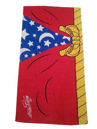 Disney Beach Towel - Sorcerer Mickey Mouse Robe