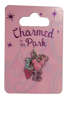 Disney Dangle Charm - Charmed in the Park - LOVE Mickey Icon
