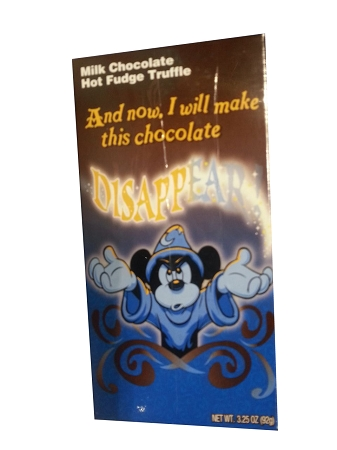 Disney Parks Candy - Sorcerer Mickey Mouse - Hot Fudge Truffle