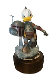 Disney Figure Statue - Star Wars - Donald Duck Boba Fett