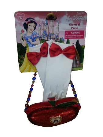 Disney Gloves and Purse Set - Princess Snow White