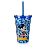Disney Tumbler with Straw - 2018 Mickey Mouse - Walt Disney World