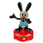 Disney Arribas Trinket Box - Oswald the Lucky Rabbit
