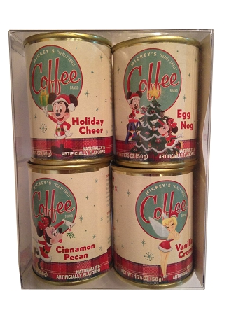 Disney Mickey's Really Swell Coffee - Holiday Flavored Coffee - 4 Pc.