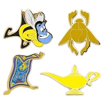 Disney Pin Booster Set - Aladdin Flair - 4 Pins