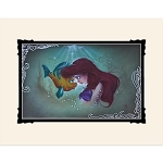 Disney Noah Art Print - The Little Mermaid - Ariel and Flounder
